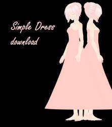 1389474a9115d LluijiMMD 151 4 [mmd] Simple Dress [dl] by neiion