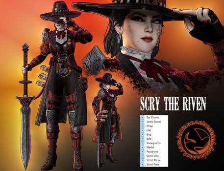 Scry the Riven - Halloween OC Meshmod by Jormun