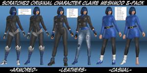 Scratch52 OC Claire Meshmod 3-Pack