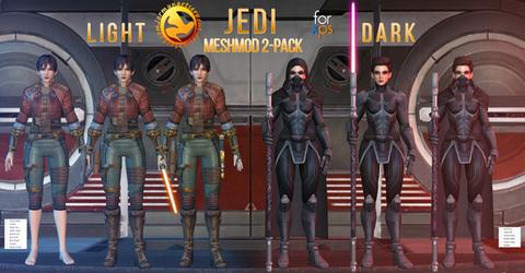 Jedi OC Meshmod 2-Pack for XPS