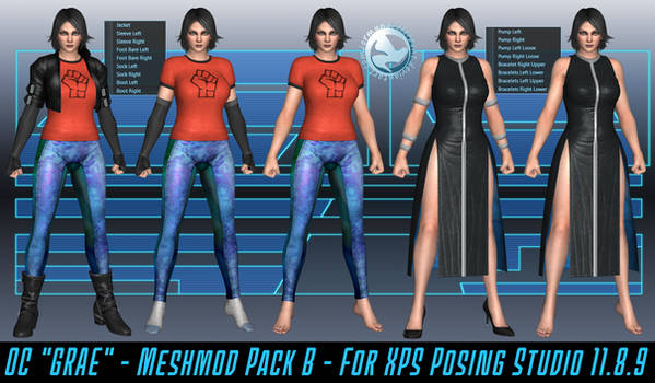 OC Grae Meshmod Pack B