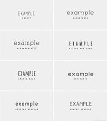 Font Pack #9 By Wildfireresources by wildfireresources