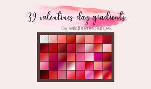 valentines day gradients @wfres
