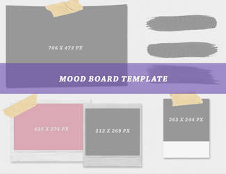 mood board template @wfres by wildfireresources