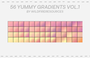 yummy gradients Vol1 @wfres by wildfireresources