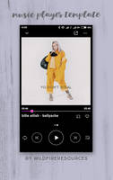 music player template by wildfireresources