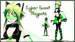 .:500 Watchers Gift:. Cyber Gumi Megpoid