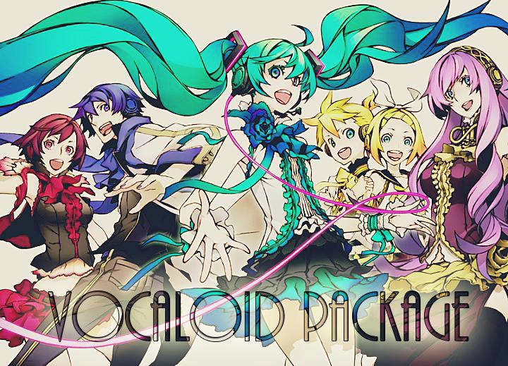 Vocaloid Package by IrinaFestner94