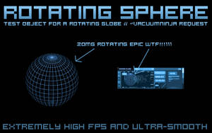 Rotating Sphere by g3xter