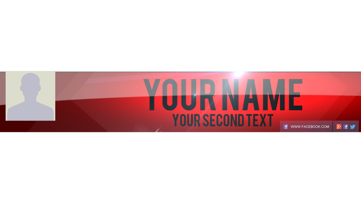 Youtube Channel Art .PSD by AlbaniaGraphicDesign on DeviantArt