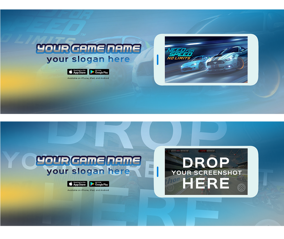 Facebook Cover For Mobile Game .PSD by AlbaniaGraphicDesign