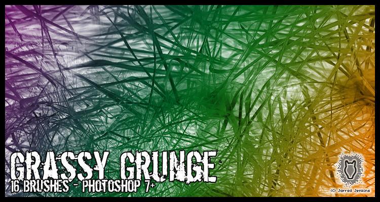 Grassy Grunge Brushes by dementeddingo
