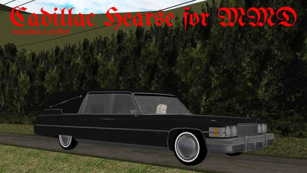 A Hearse for MMD by MichaelOKeefe1991