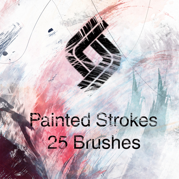 High-Res Paint Strokes: Set I