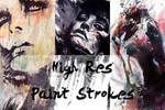 HighRes Paint Strokes: Set III