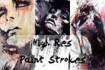 HighRes Paint Strokes: Set III by Raekre