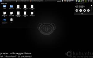 Kubuntu 9.10 Karmic Wallpaper