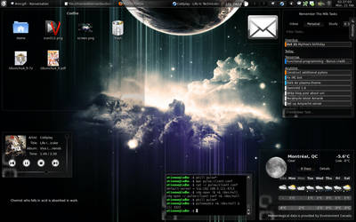 Dark Wind - KDE4 Plasma Theme