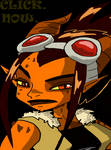 Zoelei- The Girl on Fire (Gif) by mcp100