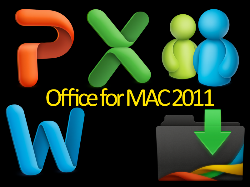 ms office 2011 mac icons