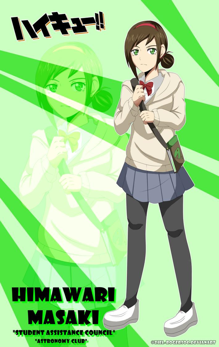 COM] Tsukishima Kei X OC ||Himawari Masaki|| by KHRIky on