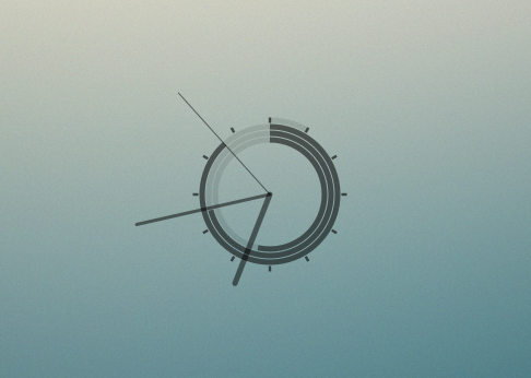 Minimal Conky Clock
