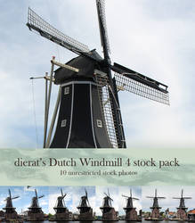 Dutch Windmill 4 stock pack