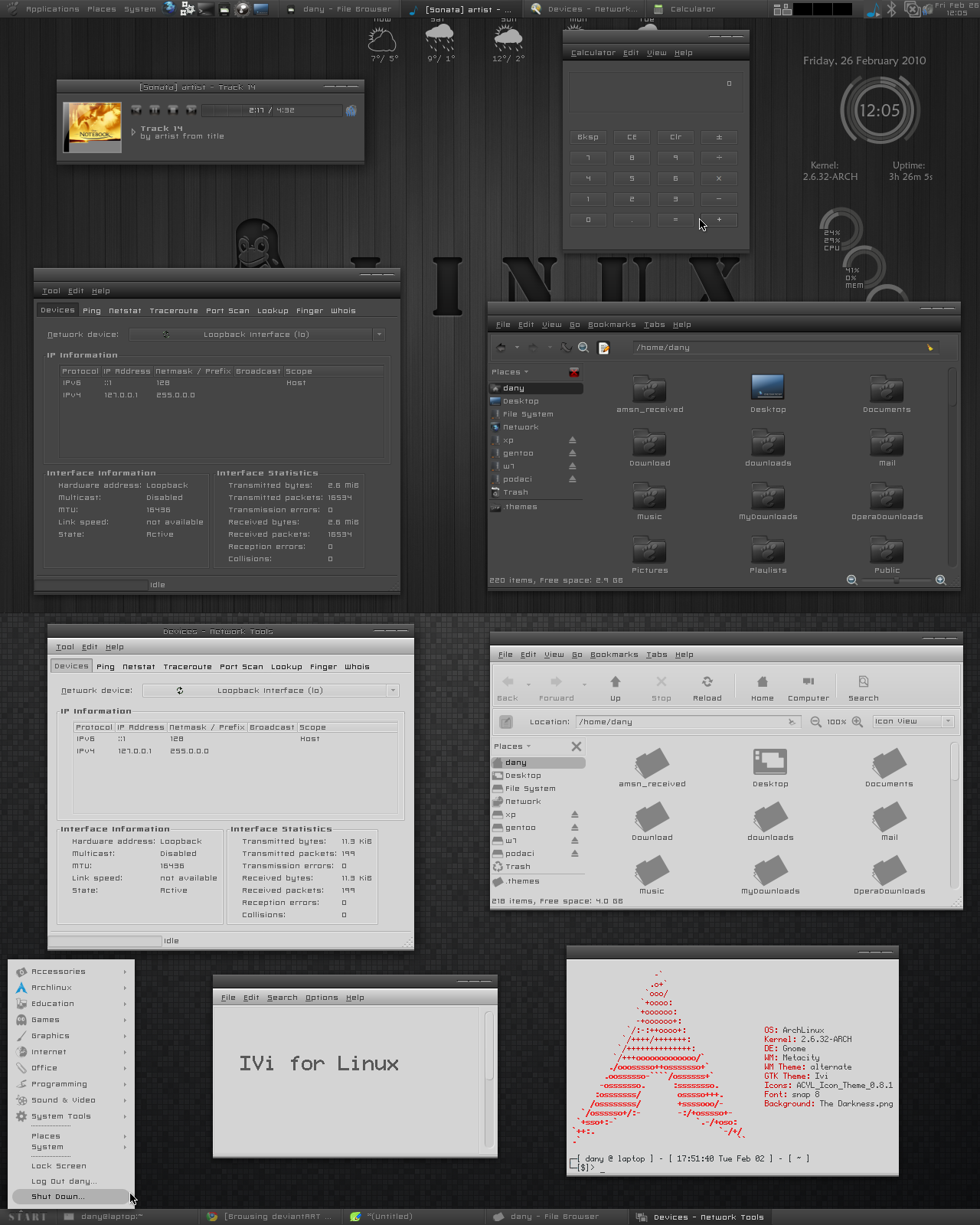 Ivi for Linux