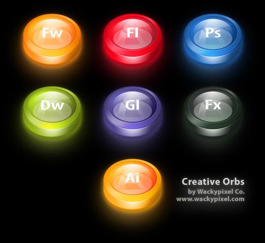 Creative Orbs II by wackypixel