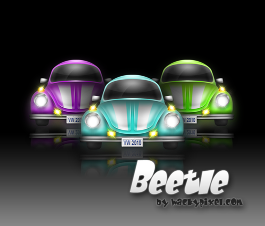 Beetle by wackypixel