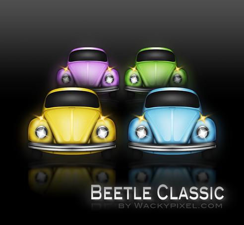 Classic Beetle by wackypixel