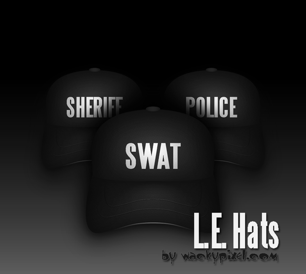 L.E. Hats by wackypixel