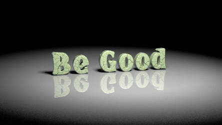 Be Good To Yourself