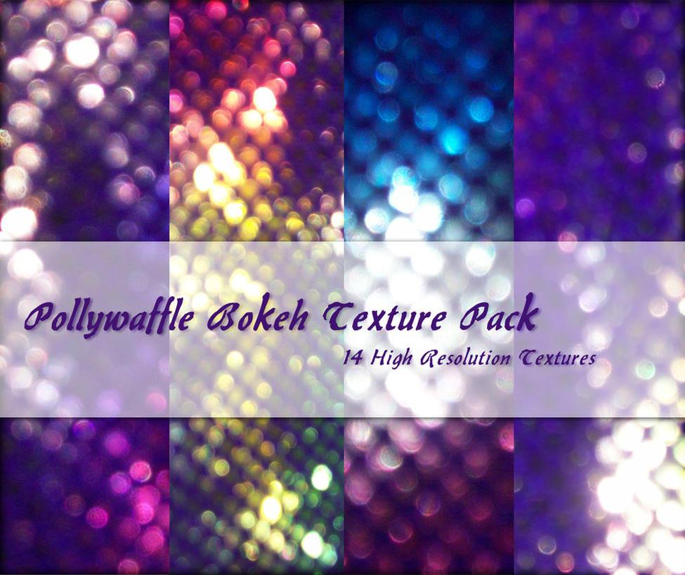 Pollywaffle Bokeh Textures by powerpuffjazz