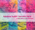 Rainbow Furry Texture Pack