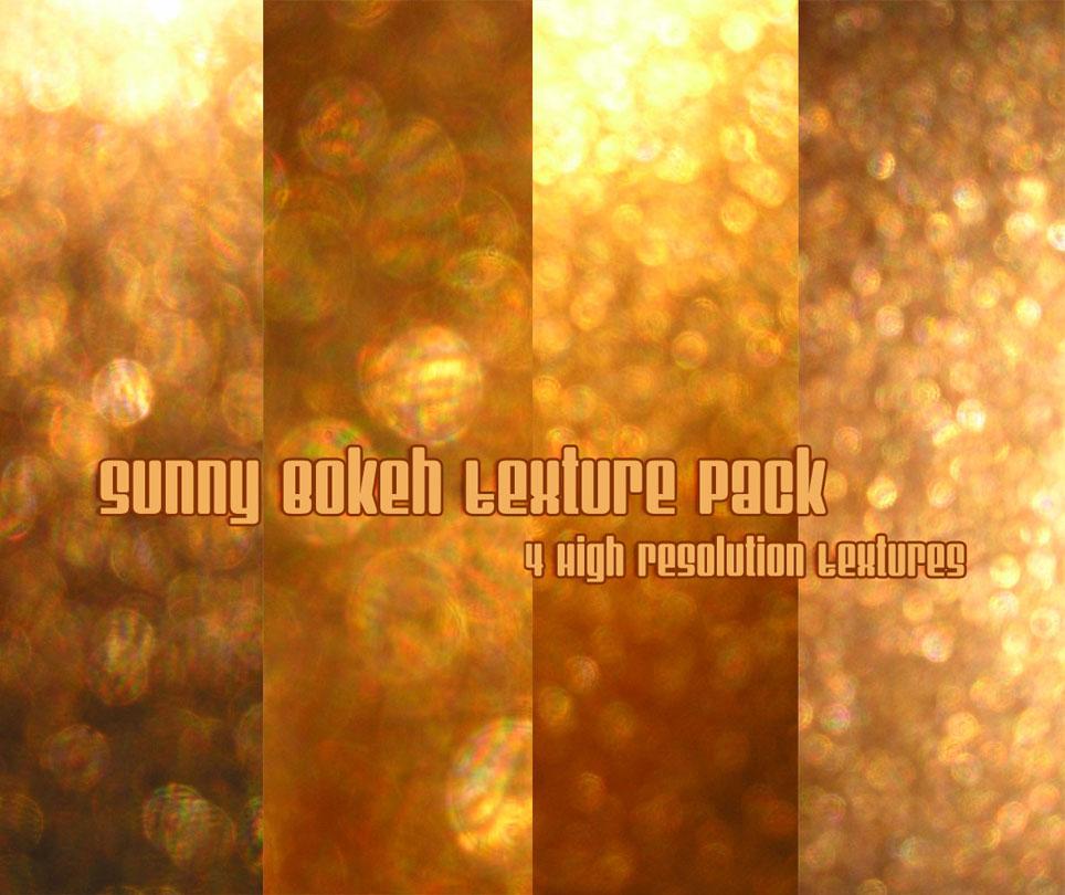 Sunny Bokeh Texture Pack by powerpuffjazz