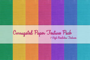 Corrugated Paper Texture Pack by powerpuffjazz