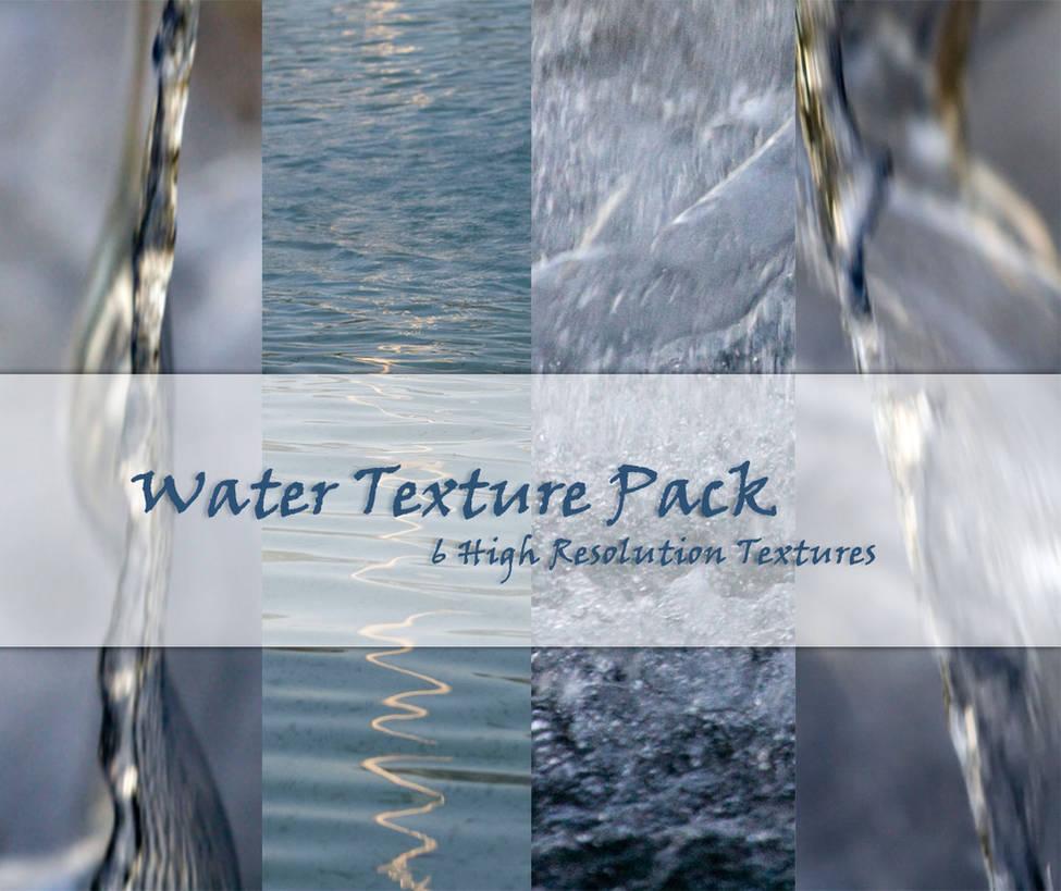 Water Texture Pack by powerpuffjazz