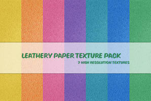 Leathery Paper Texture Pack by powerpuffjazz