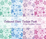 Coloured Stars Texture Pack
