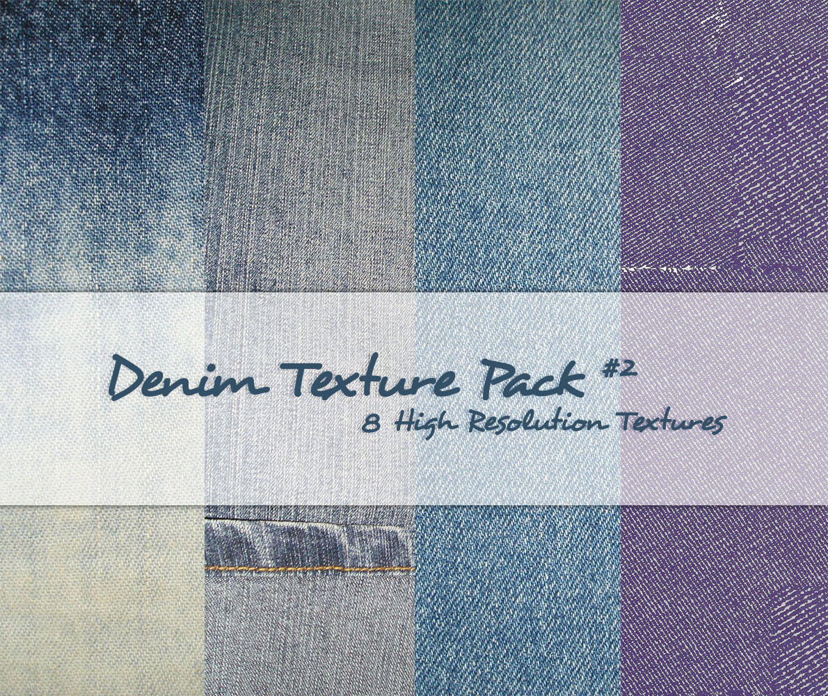 Denim Texture Pack 2 by powerpuffjazz