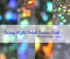 Rainy Night Bokeh Texture Pack