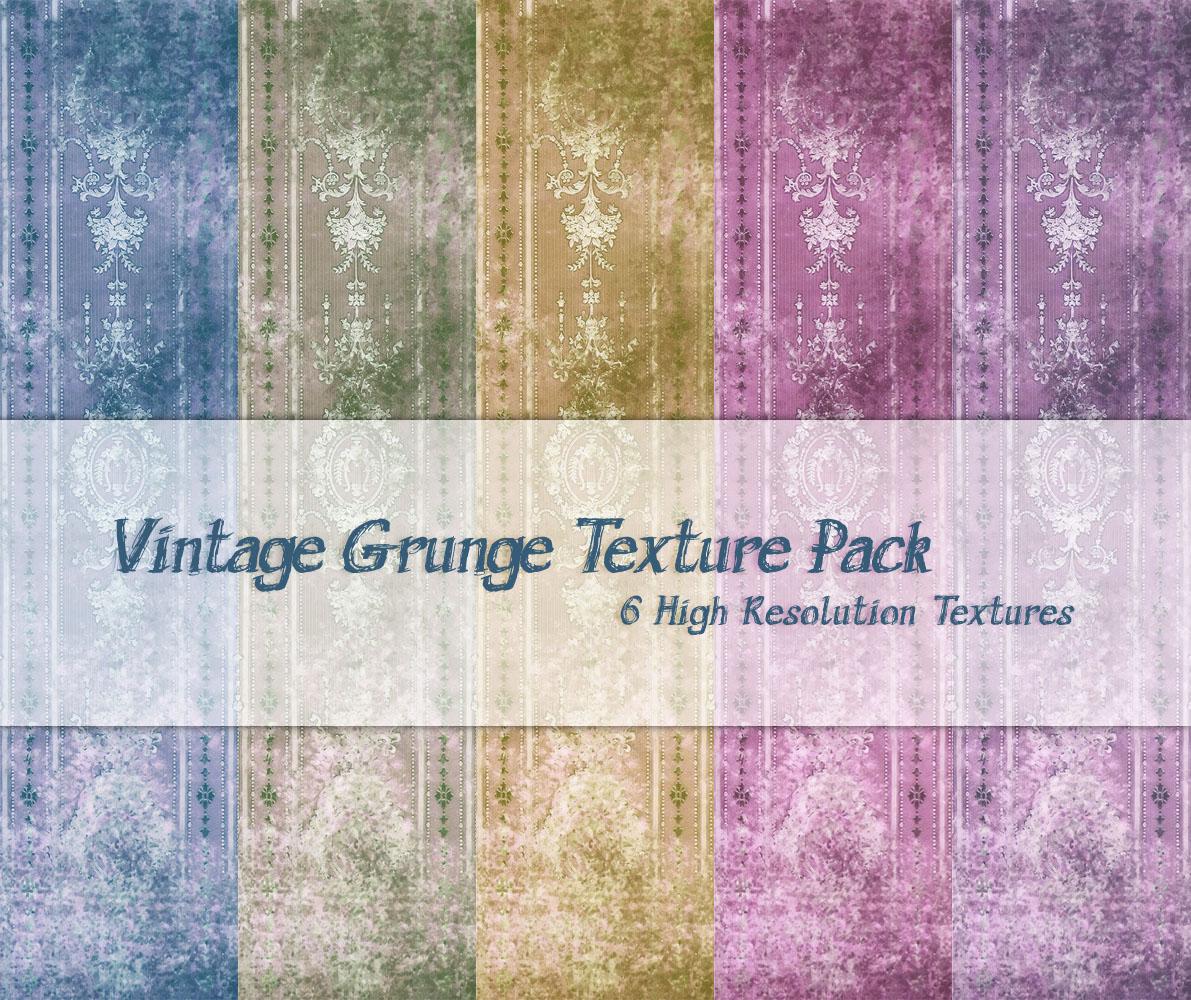 Vintage Grunge Texture Pack