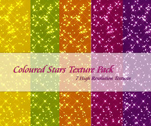 Coloured Stars Texture Pack2 by powerpuffjazz