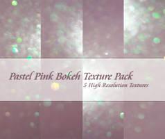 Pastel Pink Bokeh Textures by powerpuffjazz