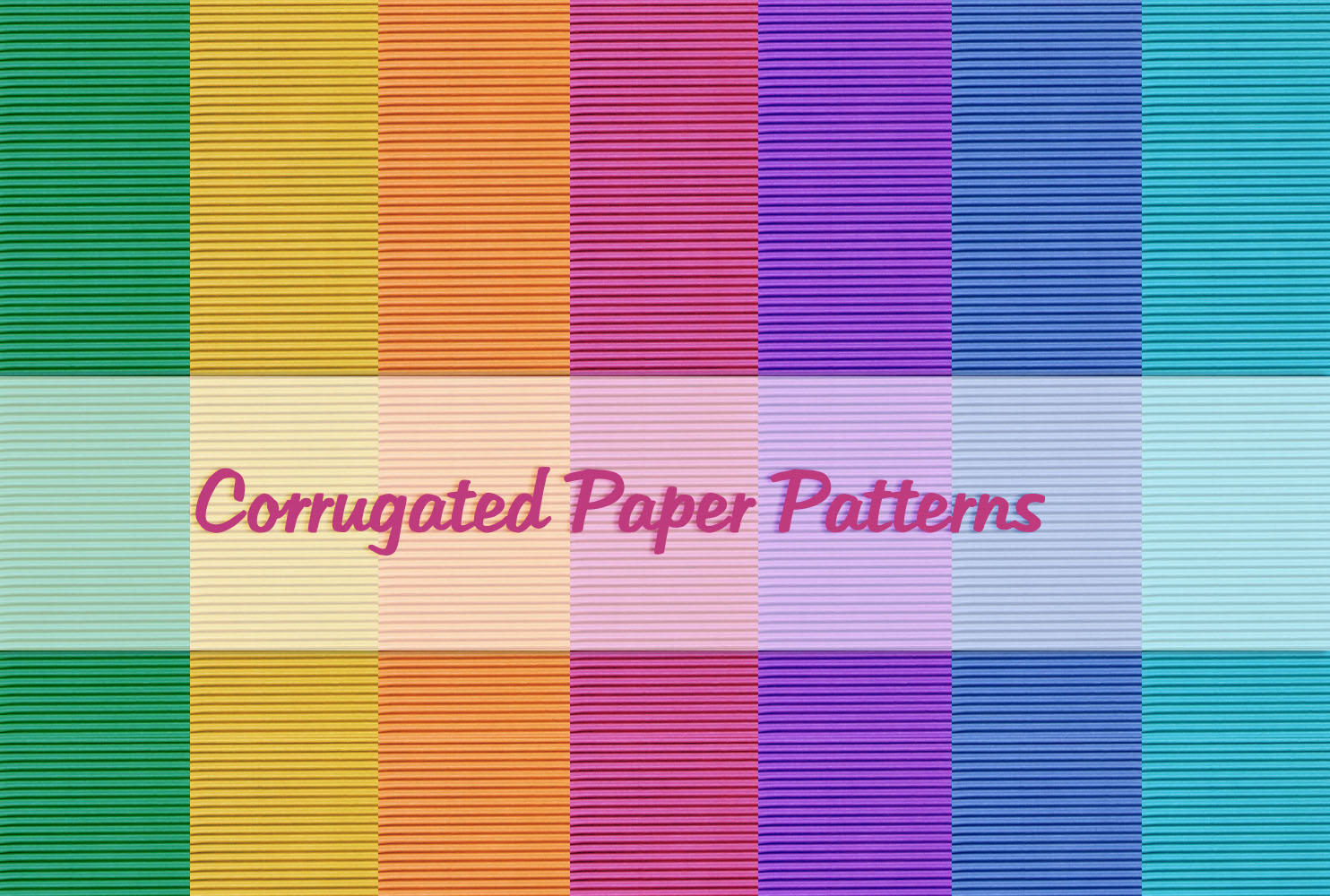 Corrugated Paper Patterns by powerpuffjazz
