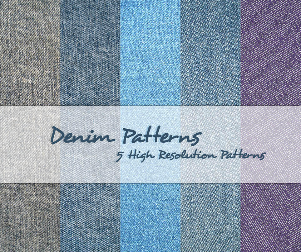 Denim Patterns by powerpuffjazz