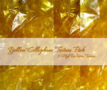 Yellow Cellophane Texture Pack