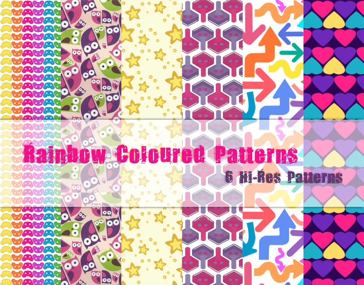 Rainbow Coloured Patterns