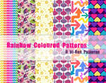 Rainbow Coloured Patterns